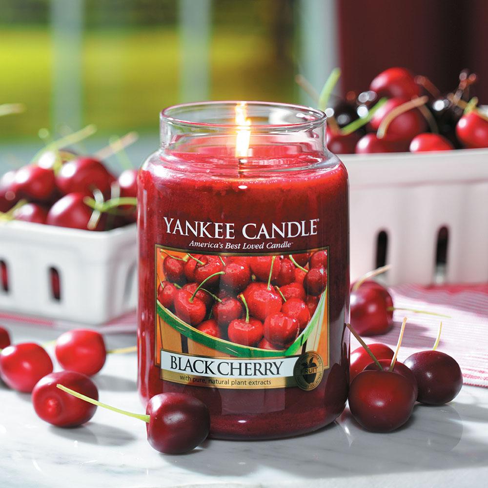 Vela grande Black Cherry